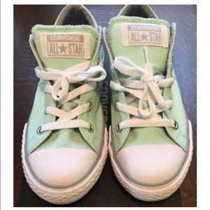 Converse Mint Green/gray/white